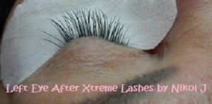 Xtreme Lash Application using Thick and Thin C-Curl Lashes