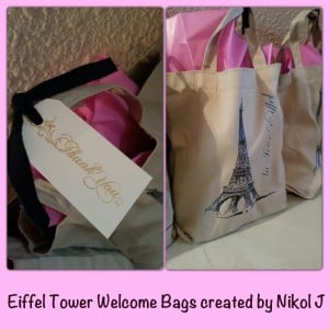 My Paris Diy Wedding Welcome Bags By Beauty Expert Nikol