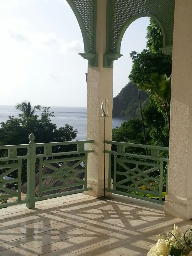 Gorgeous St. Lucia Wedding at La Belle Helene