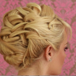 Inspiration from my client on how she wanted her hair to look on the wedding day.