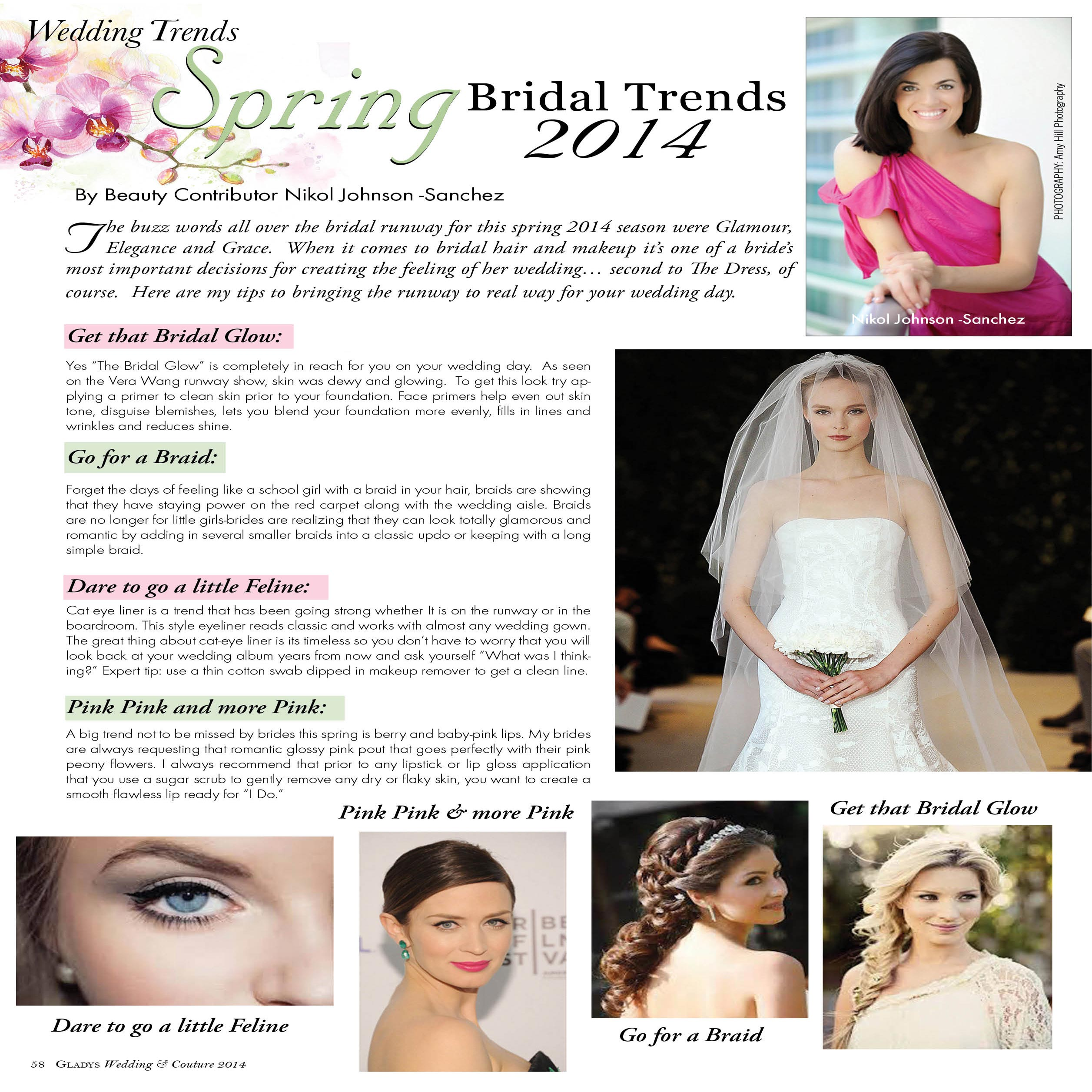 Contributing To The World Of Bridal Trends