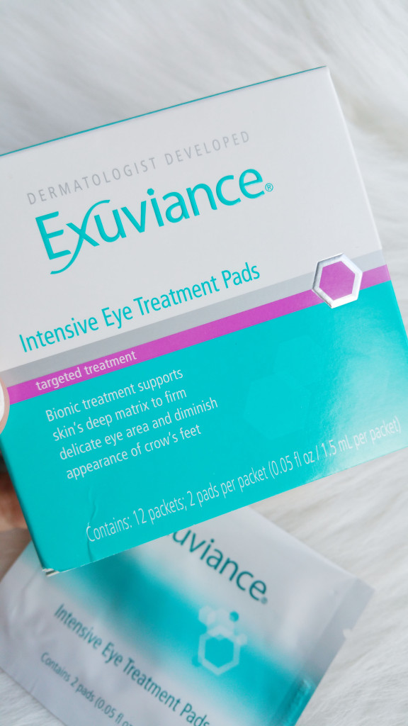 Exuviance Intensive Eye Treatment Pads Review