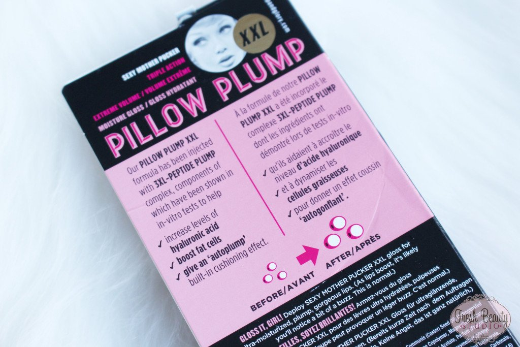 Pillow Plump Lip Gloss | Soap & Glory Review