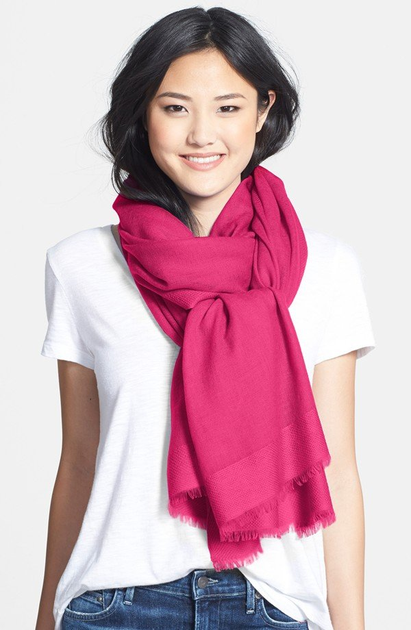 {Nordstrom Tissue Weight Wool & Cashmere Wrap $58.80}