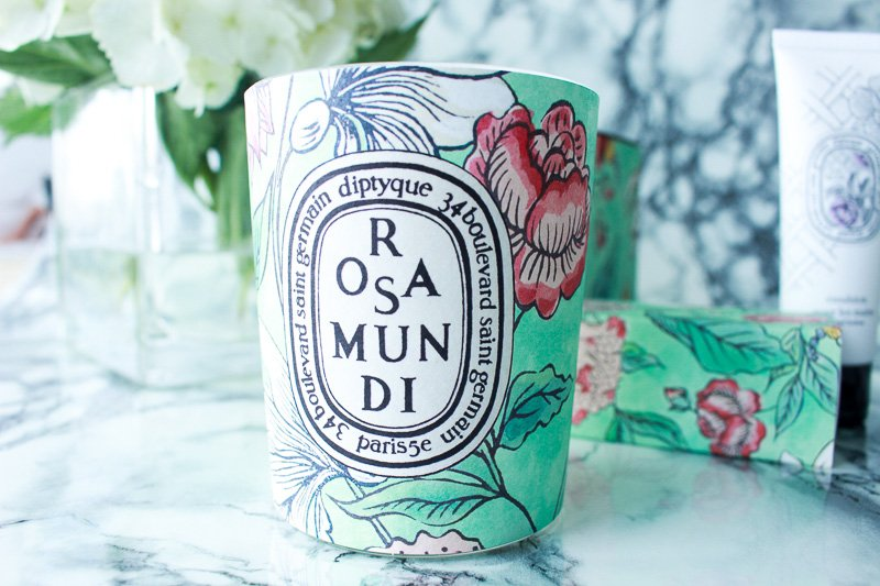 Diptyque Rosa Mundi Candle, South Florida beauty blogger, miami beauty blogger, Florida beauty blogger