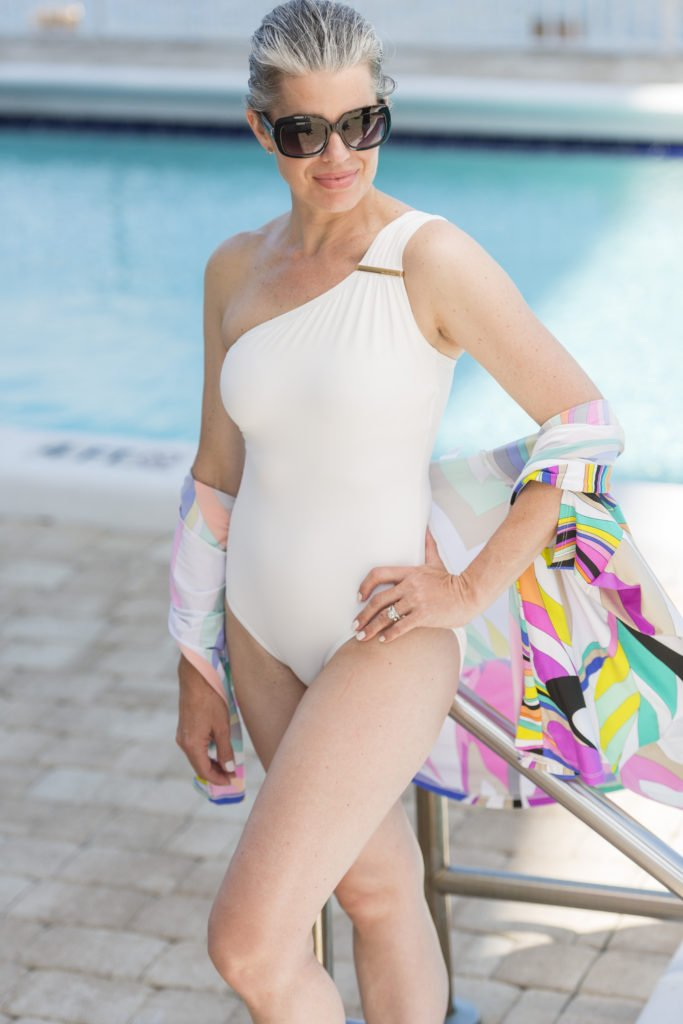 6 Flattering One-Piece Bathing Suits for Summer