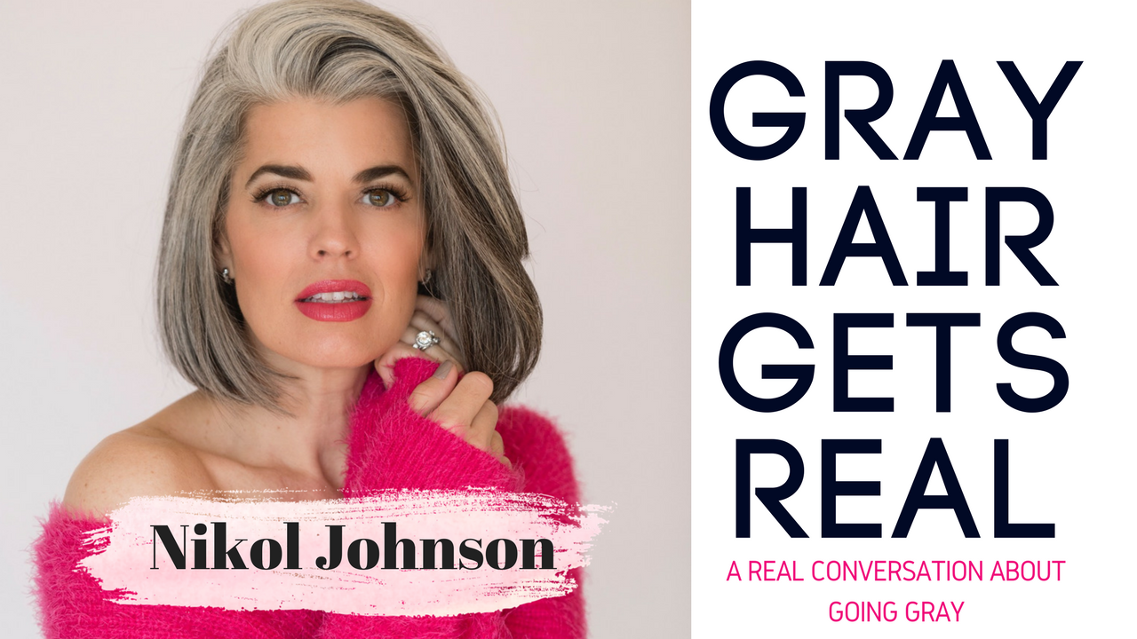 Why Gray Hair Is Changing The Beauty Industry Nikol