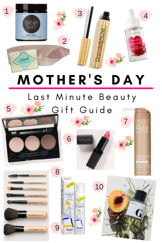 Last Minute Mother's Day Beauty Guide